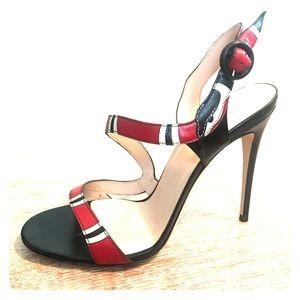 Gucci Snake Heels